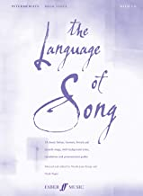 The Language of Song -- Intermediate: High Voice (Book & CD)