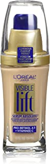 L'Oreal Paris Visible Lift Serum Absolute Foundation, Nude Beige, 1 Ounce