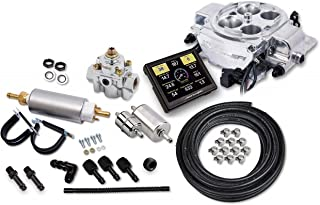 NEW HOLLEY SNIPER EFI QUADRAJET MASTER KIT,SHINY,715 CFM,ROCHESTER 4BBL,650 HP,FUEL INJECTION CONVERSION KIT,COMPATIBLE WITH SINGLE & DUAL CARBURETOR MANIFOLDS