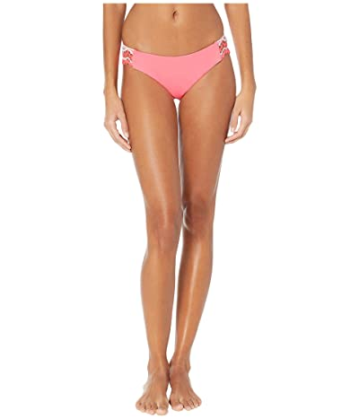 BECCA by Rebecca Virtue Delilah Avery American Tab Side Bottoms (Coral Crush) Women