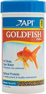 API Fish Food PELLETS, Formulated to Help Fish More readily use nutrients which Means Less Waste and Clean, Clear Water, Feed up to Twice a Day as Much as They'll eat in 5 Minutes