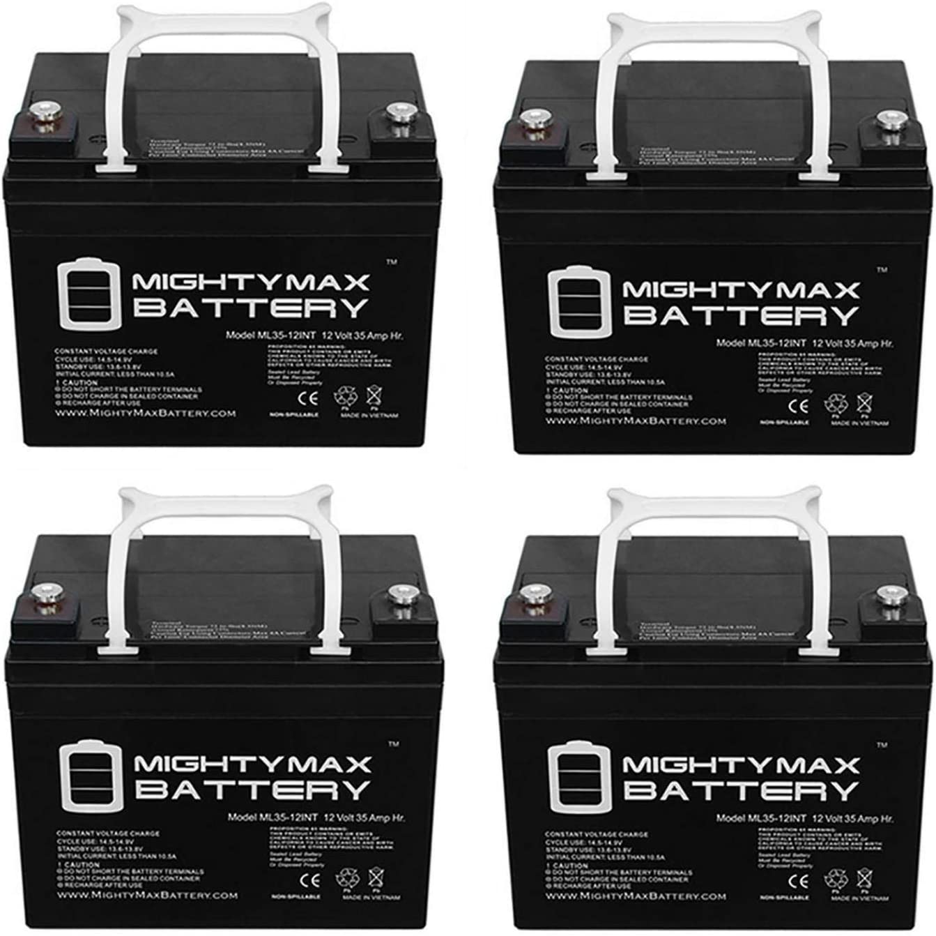 Mighty Max Battery 12V 35AH INT Detroit Mall SLA Replacement A-BE for Don't miss the campaign