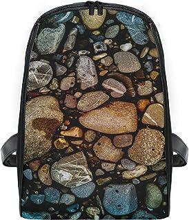 FANTAZIO Rock Beach Water mochila delgada con cierre mochila de viaje para niños