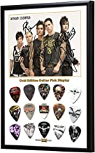 Avenged Sevenfold Limited to 100 Framed Gold 15 Plectrums Guitar Pick Display