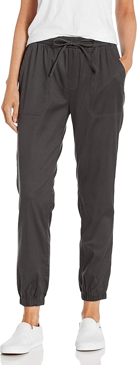 Daily Ritual Women's Stretch Tencel Relaxed-Fit Drawstring Jogger Pant