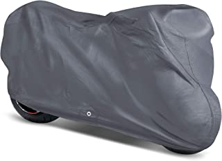 OxGord Superior Motorcycle Cover Basic Out-Door 4 Layers - Ready-Fit/Semi Custom - Fits up to 120 Inches