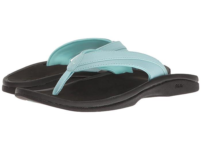 Ohana W  Shoes (Sea Glass/Black) Women's Sandals