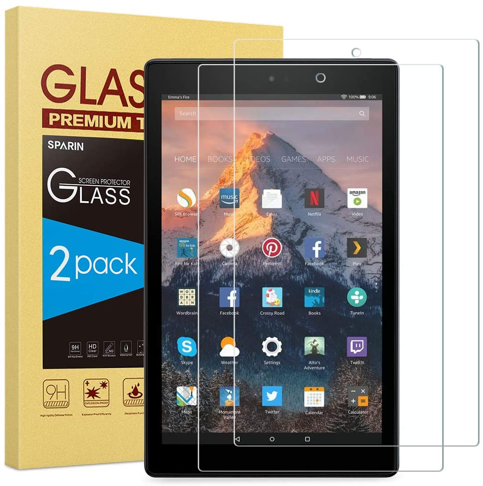 Ranking TOP7 2-Pack SPARIN Tempered Glass Protector Compatible with Screen Max 87% OFF