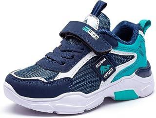 Baskets Garcon Fille Chaussure Enfant Sneakers Chaussure de Course Chaussure Running Athlétiques Shoes Chaussures de March...