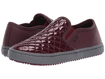 Geox Kids Jr Kalispera 27 (Little Kid/Big Kid) (Bordeaux) Girls Shoes