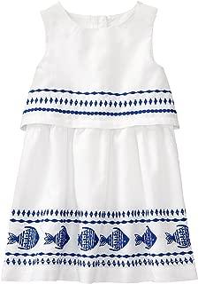 Gymboree Girls' Toddler Sleeveless Fish Print Dress