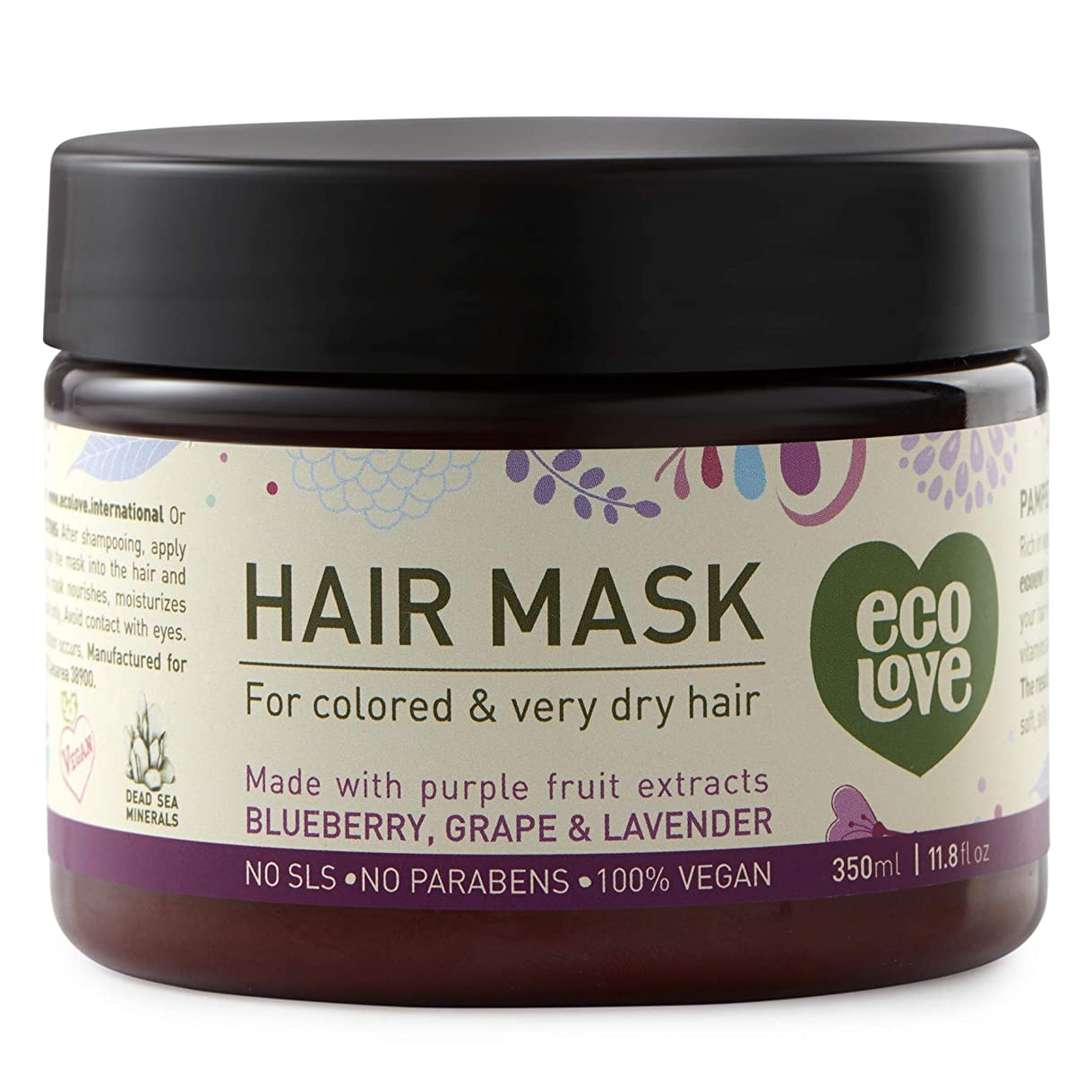 解釈的必要性可愛いHair mask for colored and very dry hair 11.8 fl.oz. 350 ml