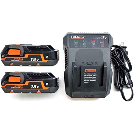 RIDGID USB 18V Power Source Portable Battery Charger Accessory Activate Button