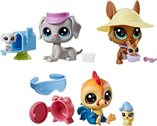 Littlest Pet Shop Pair Bundle Pack 2, Pet Figures, Ages 4 and up (Amazon Exclusive)