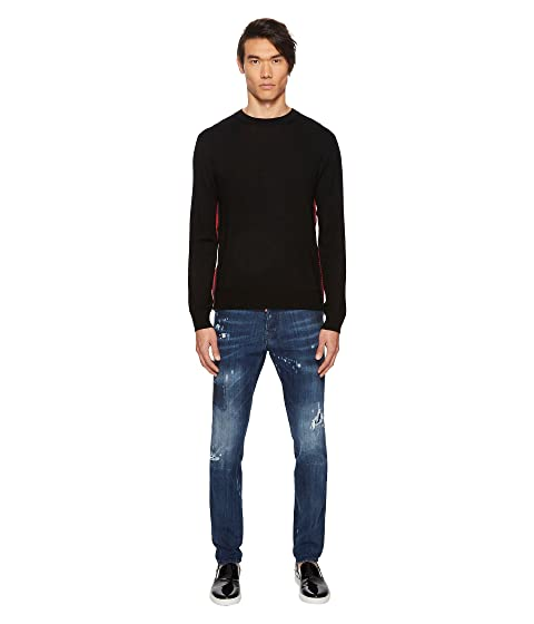Side DSQUARED2 Sweater DSQUARED2 Side Zipper Side Sweater Zipper DSQUARED2 qqSY6a