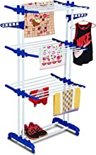Parasnath Gold Six Layer Clothes Rack Hanger with Wheels for Gold Drying Clothes (Made in India) Limited Time Offer