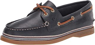 Sperry womens A/O 2 Eye Boat Shoe, Navy, 5.5 US