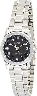 ساعة رسمية من كاسيو للنساء بعقارب LTP-V001D-1B