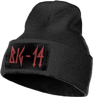 JUDE BOYLE Mens & Womens Trippie Redd Skull Beanie Hats Winter Knitted Caps Soft Warm Ski Hat Black
