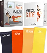 Tone that Body Booty Resistance Bands for Legs and Butt | Full Exercise Guide and Online Workout Videos Included I Best for Glute Workout