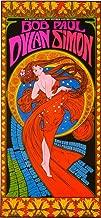 Pop Culture Graphics Bob Dylan/Paul Simon 11 x 17 Music Poster - Style A