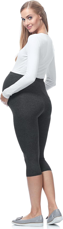 Be Mammy Womens Maternity 3//4 Leggings 03