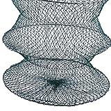Sharplace 3-Abschnitte Zusammenklappbar Fischen Netz Angelkescher