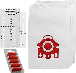 modelo MSM 18 con filtro compatibles con Compact C2 Allergy EcoLine Miele con v/álvula autom/ática para el polvo 20 bolsas para aspiradora