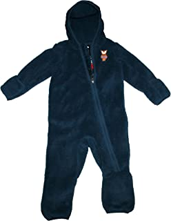 077886374 THE NORTH FACE Infant Groveland Sherparazo Fleece Baby Boys Hooded Body Suit