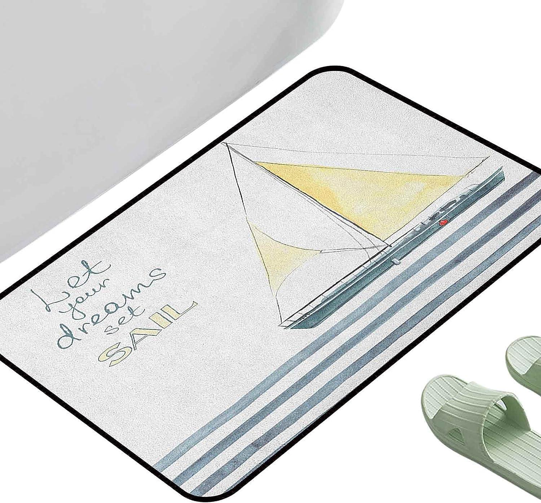 Absorbent Surprise price Mat Kitchen Rug l Soldering Let Dreams Your Set Quote Sail Strip