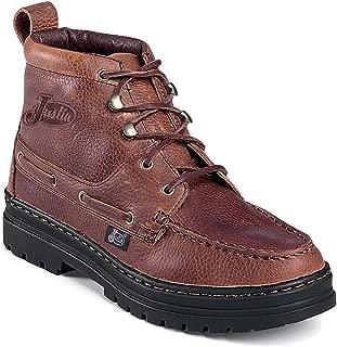 Justin Ladies Rustic Cowhide Chukka Boots