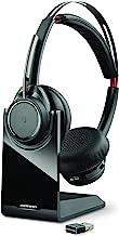 هدست Plantronics Voyager Focus UC Bluetooth USB B825 202652-101 با قابلیت حذف نویز فعال