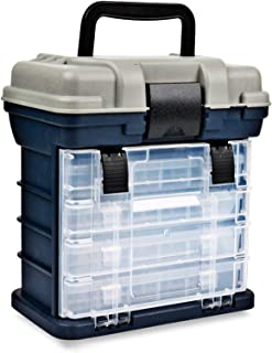 Tool Box Organiser, Portable 4 Layers Big Fishing Tackle Box Plastic Handle Fishing Box Carp Fishing Case Tools Fishing Ac...