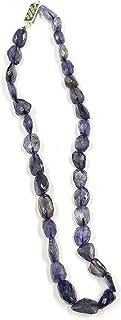 SCW Gemstone Necklace for Men Women Spiritual Reiki Healing Mala Fashion Jewelry