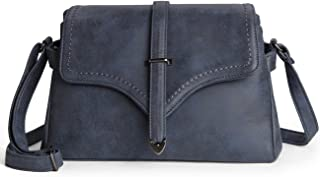 Women Shoulder Bag Pu Leather Crossbody Messenger Bag Elegant Flap Satchel Bag