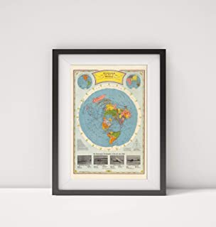 hammonds air age map of the world