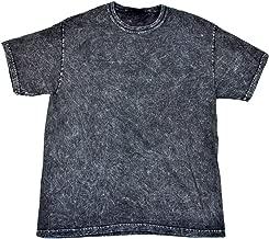 black mineral wash t shirt