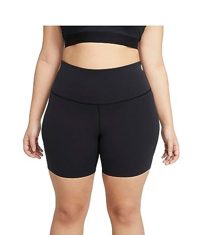 Nike The Yoga Luxe 7 Shorts (Black/Dark Smoke Grey) Women