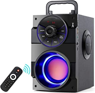 $263 » WTBH Speakers Portable Bluetooth Speaker Portable High-Power Wireless Stereo Subwoofer Subwoofer Speaker Support FM Radio ...