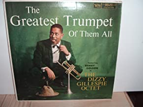 Very rare: Dizzy Gillespie Octet - The Greatest Trumpet Of Them All - Verve Deep Groove vinyl LP.