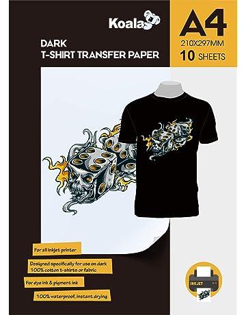 Amazon.es: Papel transfer: Oficina y papelería