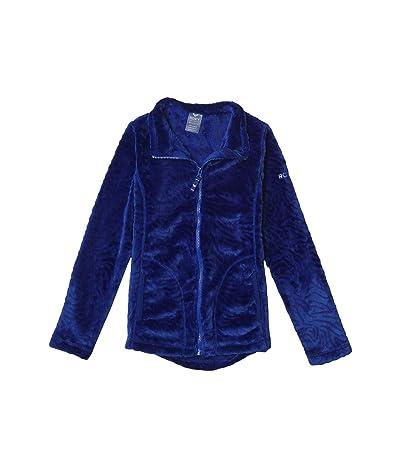 Roxy Kids Igloo Technical Zip-Up Hooded Fleece (Big Kids) (Mazarine Blue) Girl