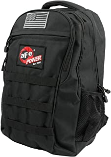 aFe POWER Lightweight Tactical Backpack with USB Charging Port, Black