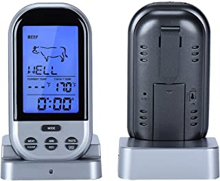 TenYua LCD Display BBQ Thermometer Digital Thermometer Kitchen Barbecue Meat Thermometer BBQ Temperature Tool