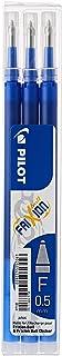 Pilot 2276003F Frixion Ball Erasable Refill Extra Fine 0.5mm PK 3- Blue (BLS-FR5-S3-L)