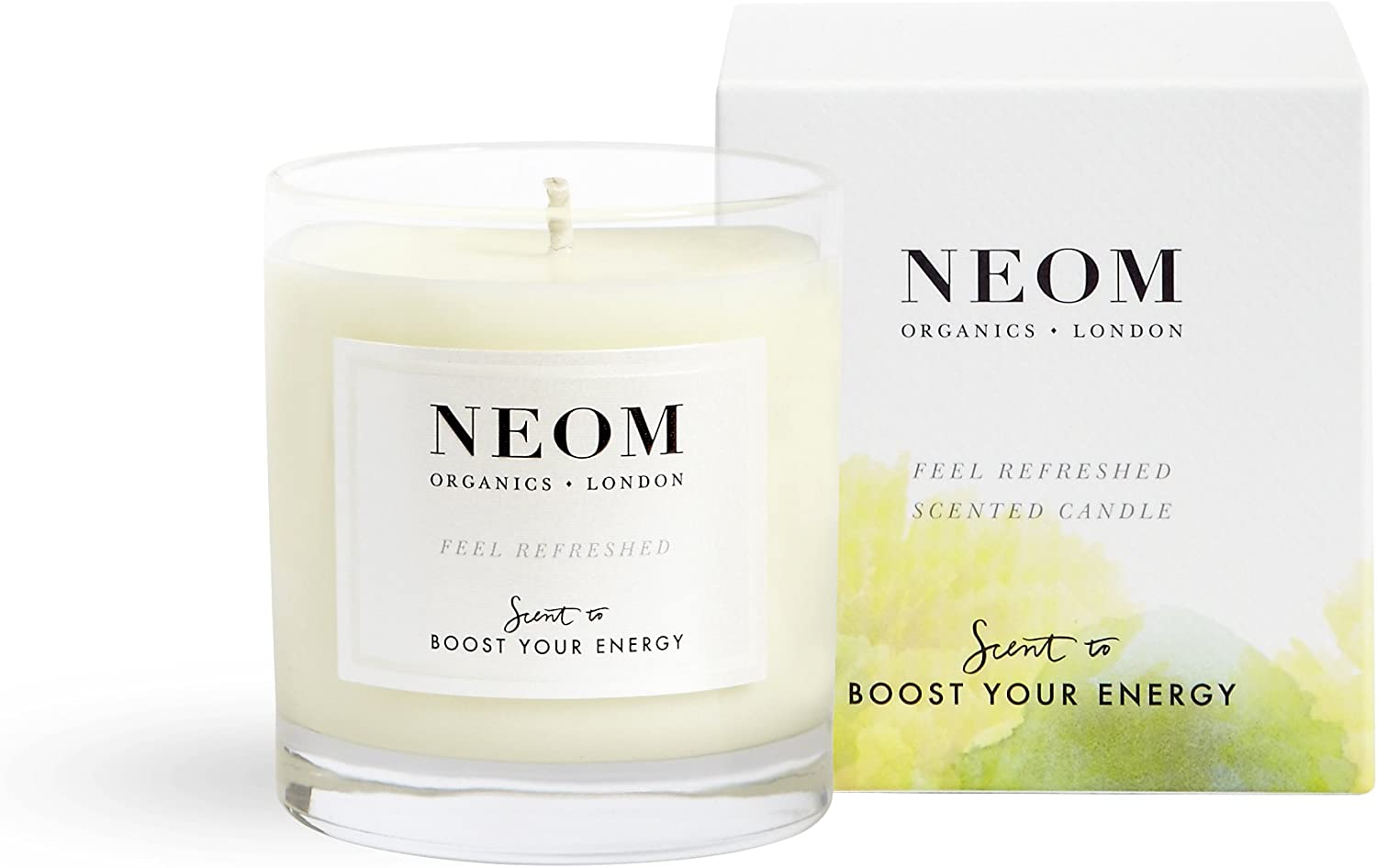NEOM – Feel Refreshed Scented Seasonal Wrap Introduction 1 6.5 Candle Wick oz 40% OFF Cheap Sale