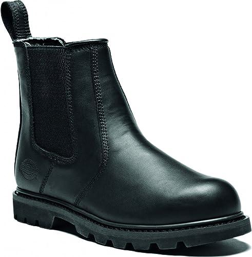 Dickies FD9214A-BK-7 Fife II - botas de distribución, Talla 7, Color negro