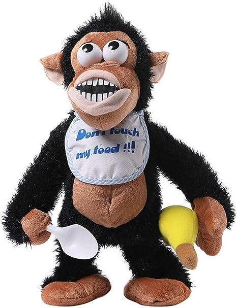 Amazon Co Jp キッズ面白いおもちゃいたずら泣い猿電子ぬいぐるみおもちゃ発達赤ちゃんのおもちゃの誕生日プレゼントのパロディーのおもちゃは 新しいです Zzbiao Color Bk おもちゃ