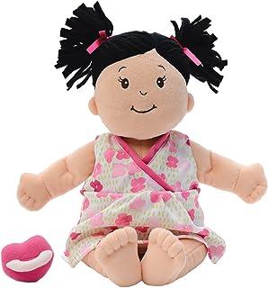 Best Manhattan Toy Baby Stella Black Hair Soft First Baby Doll, 15-Inch Review