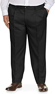 Men's Big & Tall Classic-fit Wrinkle-Resistant Pleated...